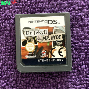 DR. JEKYLL & MR. HYDE NINTENDO DS / LITE / DSI / 3DS / 2DS / XL TESTED WORKING