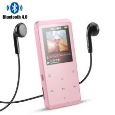 AGPTEK 16GB Bluetooth MP3 Player Multi-functional HIFI Music Player Rose Gold