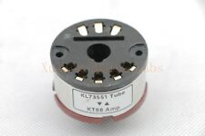 1pc Gold plated KL73551/F2a11 instead KT88 tube converter adapter