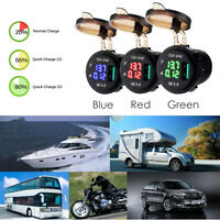 Waterproof Voltmeter /Ammeter/Car Quick Charge Multifunctional car electronic