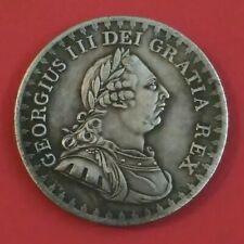 GEORGIUS III DEI GRATIA REX BANK TOKEN 3 Shill 1812.
