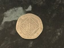 2007 ISLE OF MAN TWENTY PENCE 20P CASTLE RUSHEN CLOCK CIRCULATED