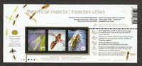 PAPER WASP = BUG = INSECTS = Souvenir Sheet of 3 stamps MNH Canada 2012 #2409b