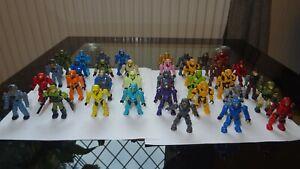 mega bloks halo figures job lot 35 total