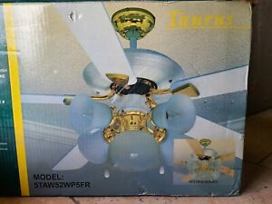 Vintage HERITAGE  52 inch ceiling fan 5TAW52WP5FR NEW !!!