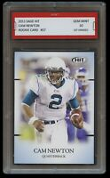 2011 / '11 CAM NEWTON #57 SAGE HIT 1ST GRADED 10 ROOKIE CARD PANTHERS/PATRIOTS