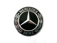 Original Mercedes Emblème Capot Avant Noir C W205 C205 E W212 W213 C238