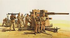 35283 TAMIYA, 1:35, 88 mm Flak 36 Africa, WWII, gmkt World of era II, modello di plastica