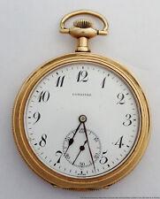 1915 Pocket Watch to Fix Antique Longines Jamestown New York