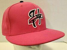 New Era Harrisburg Senators MiLB Baseball Hat Fitted Size 7 3/8 Pink