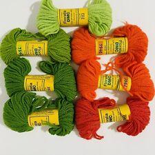 1 Skein 27 yds Pink #7605 Floralia DMC Persian Wool Needlepoint Crewel Yarn