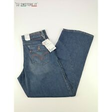 LEVI'S jeans LEVIS ENGINEERED 102 BLU SCURO SLAVATO SUPA LOOSE ZIP Vintage FLUO