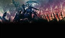 "246 Black Rock Shooter - Japanese Anime 41""x24"" Poster"