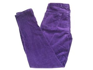 JUSTICE Girls SHIMMER BUTTERFLY Striped PREMIUM JEANS DENIM TWILL Slim Pants 12