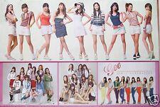 "GIRLS' GENERATION ""GEE - 4 CUTE SHOTS OF THE GROUP"" POSTER - Korean K-pop Music"
