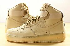 Nike Air Force 1 One High '07 LV8 QS Wheat Flax Outdoor Green 806403-200 sz 8