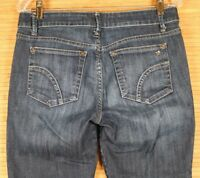 WOMENS JOES JEANS CAPRI DK. BLUE SIZE 29X22 VERY GOOD PREOWNED CONDITION.  75A