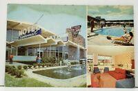 Washington DC DIPLOMAT HOTEL New York & Bladensburg Rd w/US Mailbox Postcard I11