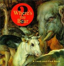 Where's the Bear?: A Look-and-Find Book (Getty Trust Publications: J. Paul Getty