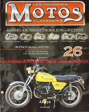 MOTOS CLASSIQUES 26 BULTACO 250 Metralla GTS 1978 Histoire TT TOURIST TROPHY