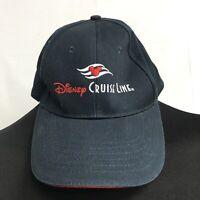 🌴Disney Cruise Line One Size Blue Adjustable Strapback Cap Hat🌴