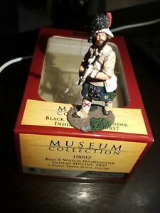 Britains,Blackwatch, Indian Mutiny, Museum Collection 10002 Highlander