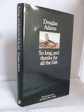 So Long, and Thanks for All the Fish - Hitch Hiker's 4 by Douglas Adams HB DJ