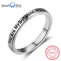 You Are My Sunshine New Sterling Sliver Fairy&Romantic Rings for Women