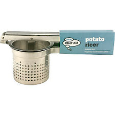 Chef Aid 10e10065 Potato Ricer Stainless Steel