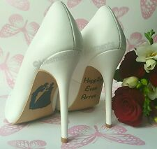 Disney Wedding Shoe Decal / Cinderella / Happily Ever After Shoes