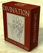 DIVINATION 76 vintage books on DVD Palmistry, Clairvoyance, Crystal Gazing Tarot