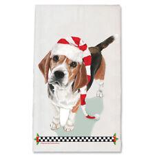 Beagle Christmas Kitchen Towel Holiday Pet Gifts