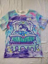 Fairy kei Pastel kawaii Unicorn T-shirt top bleu violet Tie & Dye J-Fashion 14