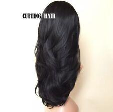 Off Black Perfect Layers Long Straight 3/4 Wig Half Wig 028-1B
