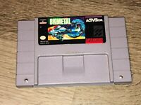 BioMetal Super Nintendo Snes Cleaned & Tested Authentic