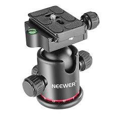 Neewer Pro Metal 360 Degree Ball Head for Tripod,Monopod,Slider,DSLR Camera