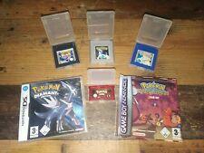 Pokemon Spiele Set / 6 Editionen / Nintendo Game Boy / Selten