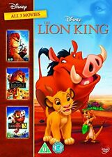 The Lion King 1-3 DVD