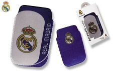 Real Madrid, Fanshop Custodia cellulare smartphone custodia universale 12cm x7 cm New Spain