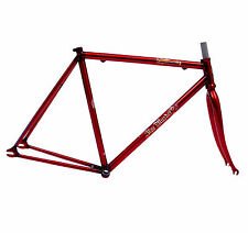 Fahrradrahmen in Rot