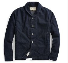 $690 RRL Ralph Lauren Limited Edition Made in USA Japanese Denim Jacket-MEN- XXL