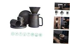 Eco Friendly Pour Over Coffee Maker Cup Set Pourover Ceramic Coffee Brewer