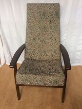 Vintage Parker Knoll Arm Chair William Morris Arts & Crafts Upholstery VGC
