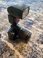 Nikon D5000 Camera W/ Speedlight SB-910 Flash & AF-S 18-105MM Lens.