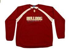 Mens Georgia Bulldogs Baseball Long Sleeve Jersey Large