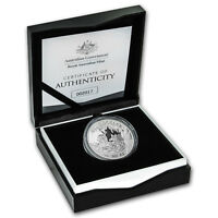 2018 Australia 1 oz Proof Silver Kangaroo (w/Box and COA)
