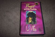 Prince Music & Concerts VHS Tapes