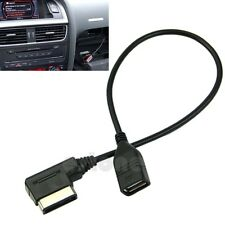 For Audi Music Interface AMI MMI AUX to USB Adapter Cable Flash Drive Car Audio