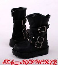 1/3BJD Boots/Shoes Supper dollfie SD Luts Black new #S70B-2