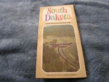 1969 South Dakota Highway Map